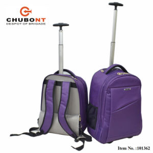 Chubont Size 19 Size 22inch Fashion Wheeled Trolley Backpack pictures & photos