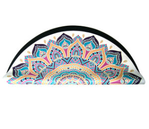 Custom Eco Print Yoga Mats with Bag Exercise Rubber Round Yoga Mat Eco Friendly pictures & photos