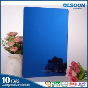 Olsoon PMMA Mirror Sheet/Acrylic Mirror Board Golden Mirror Sheet pictures & photos