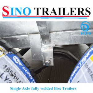 Manufacturer Supply Tandem Axle Box Trailer pictures & photos