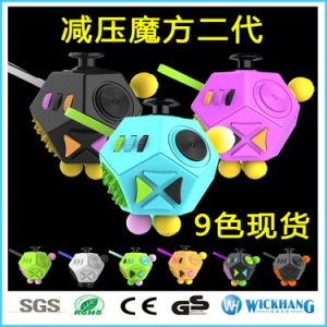 Cool Fidget Cube Dodecagon Relieve Anxiety Stress Adults Solve Puzzle Toys Gift pictures & photos