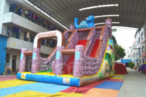 Lovely Dinosaur Inflatable Kids Slide for Wholesale pictures & photos