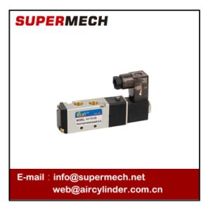 4V110-06 Air Solenoid Valve DC 24V AC 110V 220V pictures & photos