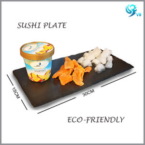 Custom Size Quality Acidoresistant Slate Cheeseboard pictures & photos