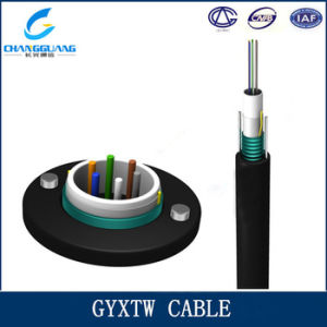 Low Price Outdoor Light Armored 12 Core Aerial Fiber Cable pictures & photos