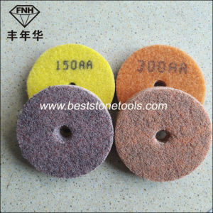 Wd-12 Diamond Sponge Polishing Pad for Marble pictures & photos