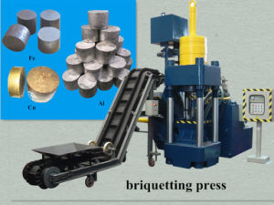 Briquetters Automatic Aluminum Iron Metal Scrap Hydraulic Press Recycling Machine-- (SBJ-315) pictures & photos
