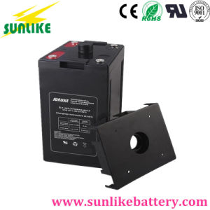 Rechargeable Deep Cycle Lead Acid Battery 2V100ah for UPS pictures & photos
