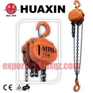 Good Price Vt Type 5ton 3.5meter Chain Pulley Block pictures & photos