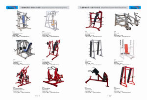 Classic Power Bench Fitness Hammer Strength Gym Equipment pictures & photos