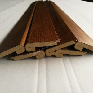 Wood Moulding Stair Nosing / MDF Stair Nose Flooring Accessories pictures & photos