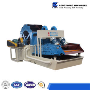 New Type Wheel Sand Washing Machine with Cyclones for Sale pictures & photos
