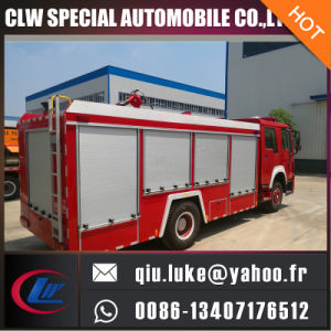 HOWO 3000gallons 12cbm Fire Extinguisher Tank Fire Fighting Truck for Bid Large Quantity Supply pictures & photos