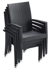 Garden/Patio Wicker Dining Chair for Outdoor Furniture (LN-585-06) pictures & photos