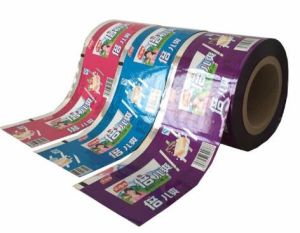 Plastic Food Packaging Laminating Pouch Film for Cake Candy Snacks pictures & photos