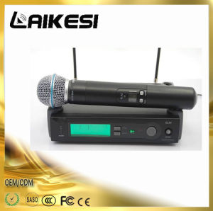 Dh-744 VHF Dual Microphones High Quality Wired Microphone pictures & photos