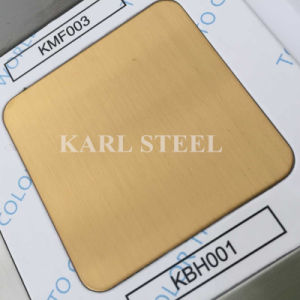 Ss 304 Embossed Finish Stainless Steel Sheet in Foshan pictures & photos
