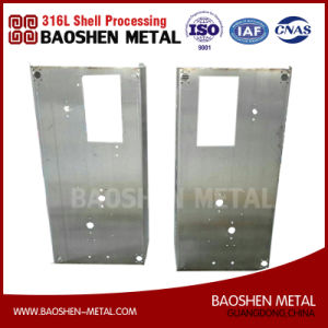 Customized Stainless Steel 304 Sheet Metal Frame Fabrication Machined Components pictures & photos