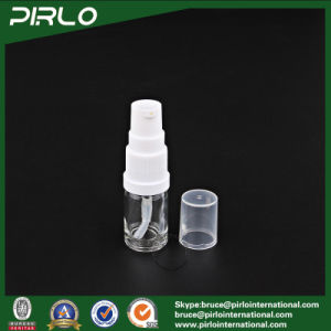 5ml 10ml Empty Glass Bottle with Lotion Pump Sprayer Essential Oil Use Cosmetic Bottles pictures & photos