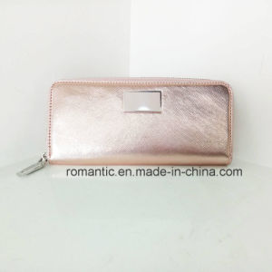 Guangzhou Supplier Women PU Wallet Lady Leather Purse (NMDK-041302) pictures & photos