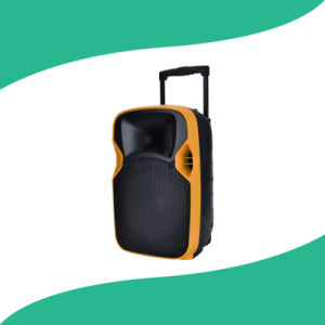 Hot Sale Plastic PA PA Speaker with LED Projector and Screen