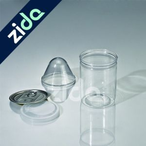 280ml Easy Open Pet Plastic Food Can with Plastic Lids pictures & photos