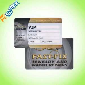 Club Card Offset Printing Silk Printing PVC Card pictures & photos