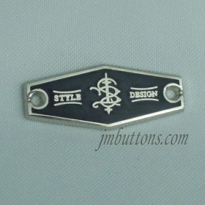 Fancy Types Custom Design Metal Labels for Garments pictures & photos