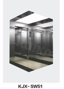 Commercial Lift with Mirror Car for Passenger pictures & photos