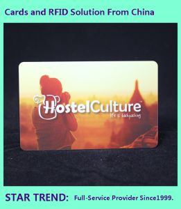 Pearlescent Printing PVC Card with Magnetic Stripe for Hypermarket pictures & photos