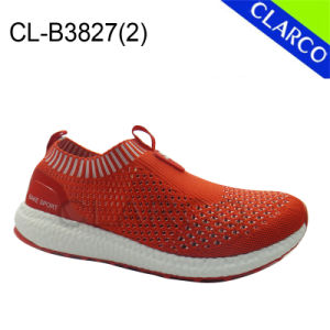 Unisex Sports Sneaker Running Shoes with Flyknit Mesh pictures & photos