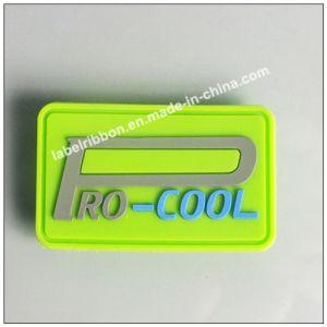 Custom Garment Logo 3D PVC Soft Rubber Label pictures & photos