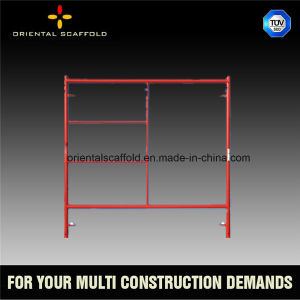 Hot DIP Galvanized Main Frame Scaffolding pictures & photos