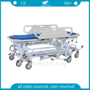 AG-HS021 ISO Ce Approved Cheap Hospital Ambulance Emergency Stretcher pictures & photos