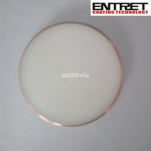 Sputtering Target: Gd2o3 Target Bonded with Copper Backing Plate pictures & photos