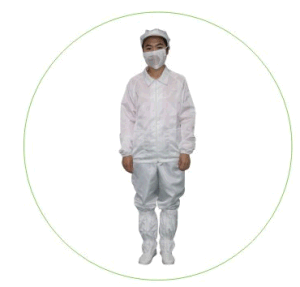 Nomex ESD Cleanroom Garment Working Apparel Cleanroom Jacket pictures & photos