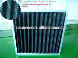 G3, G4 Pleated Activated Carbon Filter pictures & photos