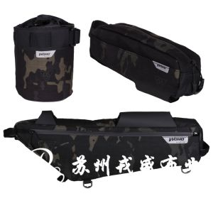 Multicam Black Cp Camouflage, 1050d PU Backing Cordura with Waterproof pictures & photos