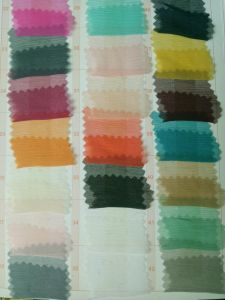 Crinkle 100% Pure Silk Fabric for Bridal Dress pictures & photos