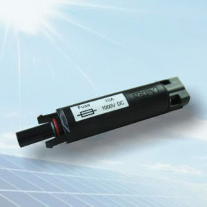 25A Safety Fuse Connector for Solar Panel with Copper-Tin-Plated Mc4b-C1-25A pictures & photos