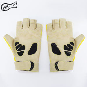 Bicycle Motorcycle Shockproof Outdoor Sports Half Finger Short Gloves