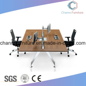 Hot Selling Furniture Office Wooden Table Computer Desk Workstation pictures & photos