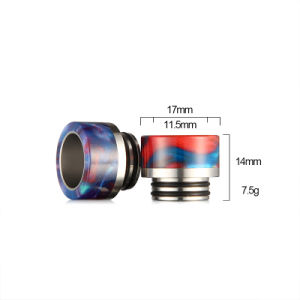 2017 Vivismoke Ss+Resin Drip Tip Hot Selling Resin Drip Tip for Tfv8 Tfv12 pictures & photos