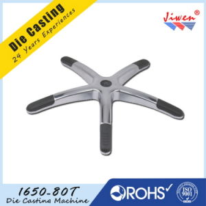 Aluminum Die Casting Office Chair Parts Five Star Base pictures & photos