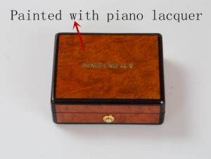 Elegant Luxury Multifunctional Piano Lacquer Wooden Gift Storage Box pictures & photos