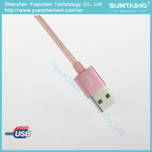 Nylon-Braided Lightning to USB Cable pictures & photos