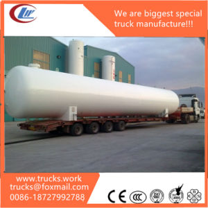3 Axle 50cbm Gas Tanker Carrier LPG Tank Semi Trailer pictures & photos