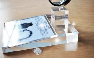 Acrylic Anti-Theft Mobile Phone Display pictures & photos