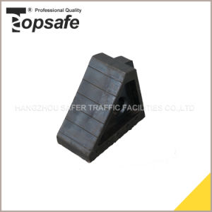 Rubber Safety Car Wheel Chock (S-1521) pictures & photos