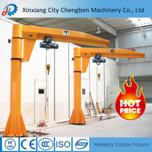 Widely Used Electric Hoist Portable Jib Crane for Sale pictures & photos